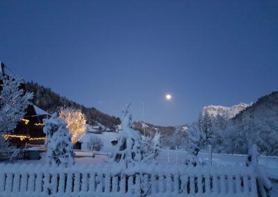 Berger Eriz Winter Mond Schnee